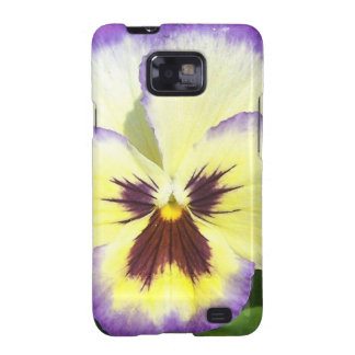 Pansy Flower Pictures Samsung Galaxy Case Samsung Galaxy SII Cases