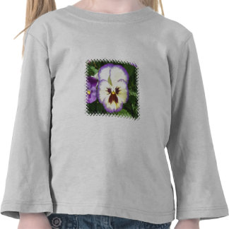 Pansy Flower Pictures Toddler T-Shirt