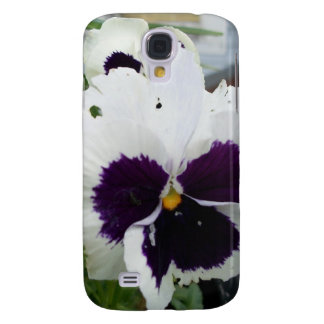 Pansy Flower Samsung Galaxy S4 Cover