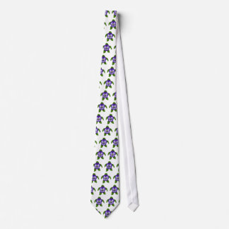 Pansy  FLOWER SEA TURTLE tie