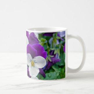 Pansy Galore Coffee Mug