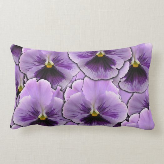 Pansy Garden Pillow
