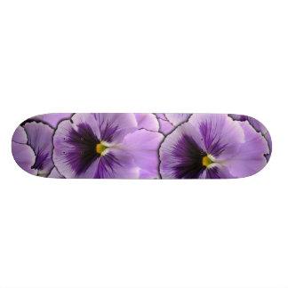 Pansy Garden Skateboard