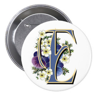 Pansy Initial  - E Buttons