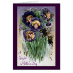 Pansy Ladies Mother's Day Cards