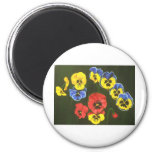 pansy lions dk magnets