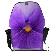 pansy messenger bag