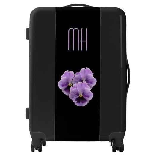 Pansy Monogram Luggage