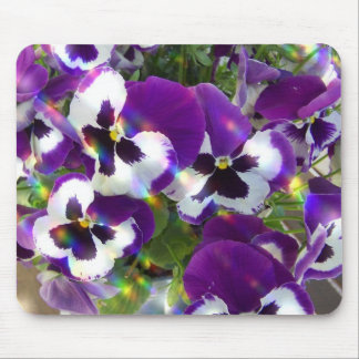 Pansy Mouse Pad