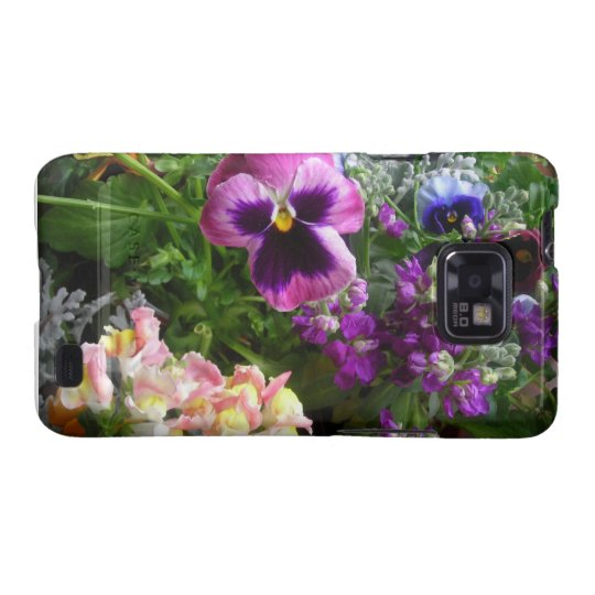 Pansy N Friends Samsung Galaxy S case