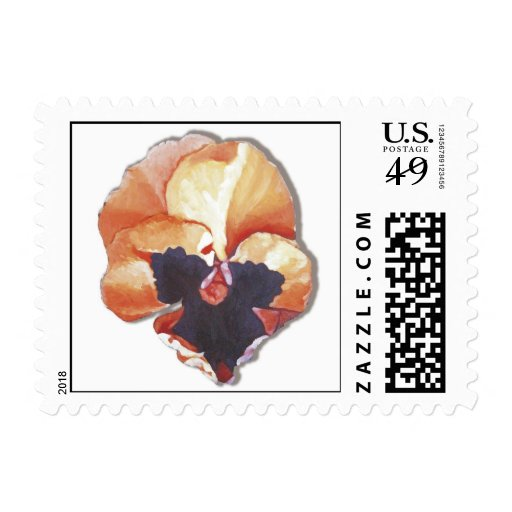 Pansy No. 6 Stamps