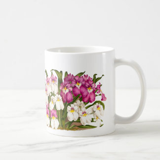 Pansy Orchid Flowers Coffee Mug