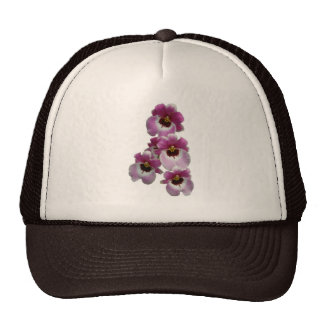 Pansy Orchid Trucker Hat