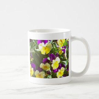 Pansy Patch Coffee Mug