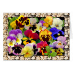 PANSY PATCHWORK ~ Any Occasion Card # 2