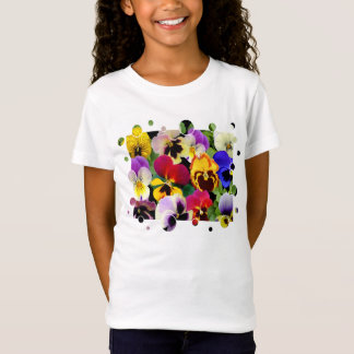PANSY PATCHWORK ~ Kids T-Shirt