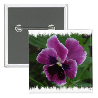 Pansy Pictures Square Button