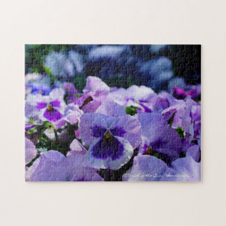 Pansy Pizzazz! Puzzle