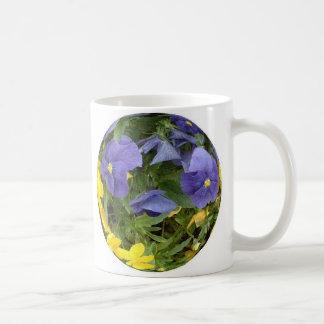 Pansy Power Classic White Coffee Mug