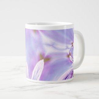 Pansy Print Jumbo Mug