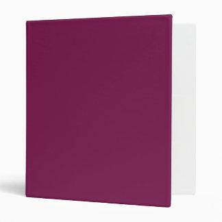 Pansy Purple Avery Binder