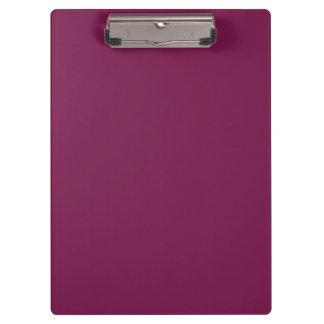 Pansy Purple Designer Monochromatic Clipboards