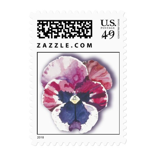 Pansy Red Postage