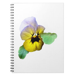 Pansy Saluting Notebook