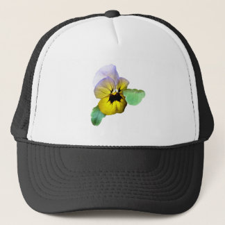 Pansy Saluting Trucker Hat