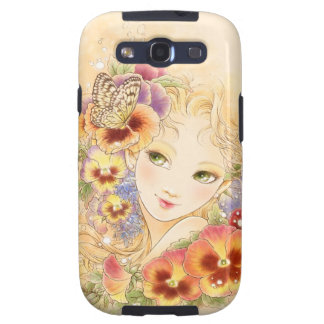 Pansy Samsung Galaxy Case Galaxy S3 Cases
