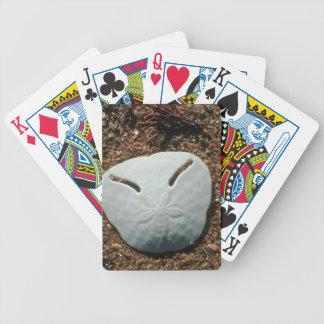 Pansy Shell Urchin (Echinodiscus Bisperforatus) Bicycle Playing Cards