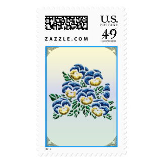 Pansy Stamps