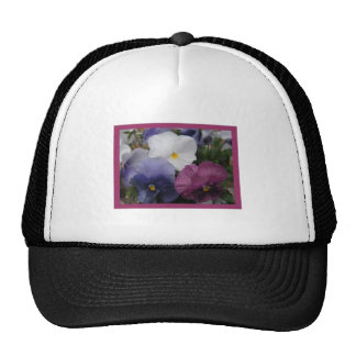 Pansy Trio Hats