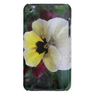Pansy White and Yellow iPod Case