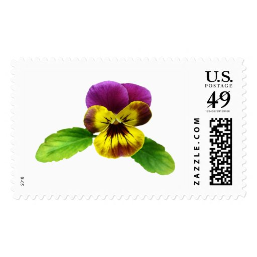 Pansy With Welcoming Arms Stamps