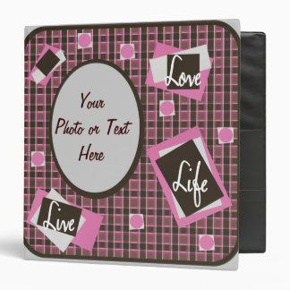 Pansy's Love-Life-Live Binder