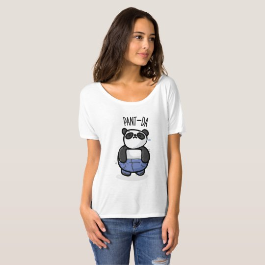 Pant-Da Women's Slouchy T-Shirt