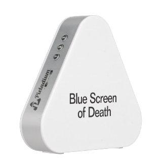 Pantalla azul de Death.ai Altavoz Bluetooth