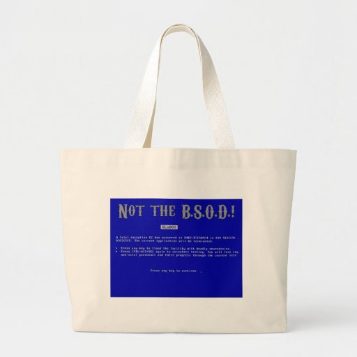 Pantalla azul de la muerte bolsa