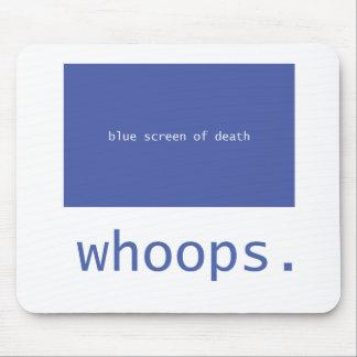 ¡Pantalla azul de la muerte - chillidos! Tapete De Ratón