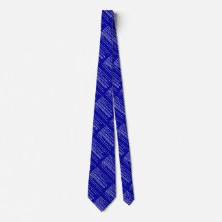 Pantalla azul del desgaste del cuello de la muerte corbata