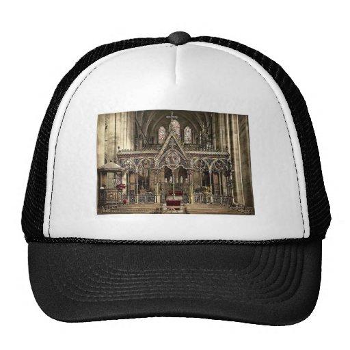 Pantalla de coro de la catedral, Hereford, Inglate Gorras De Camionero