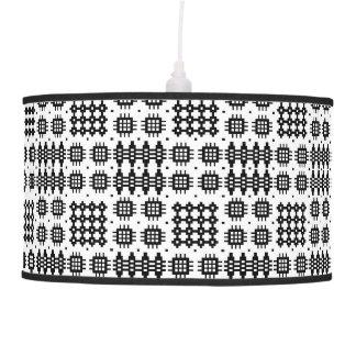 Pantalla: Modelo de la tapicería Galés, negro en b