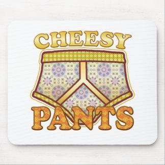 Pantalones caseosos alfombrillas de ratones