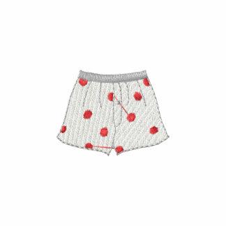 Pantalones cortos del boxeador polo bordado