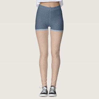 Pantalones cortos del dril de algodón leggings