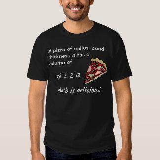 Pantalones cortos - la fórmula para la pizza remera
