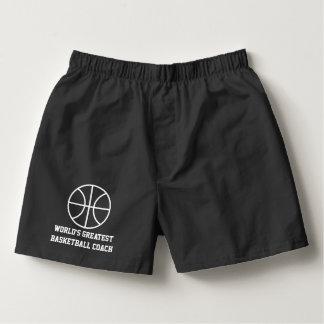 Pantalones cortos o escritos de encargo del calzoncillos