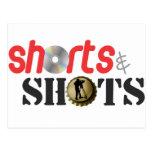Pantalones cortos y tiros postal