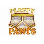 Pantalones de Ploppy Tarjeta Postal